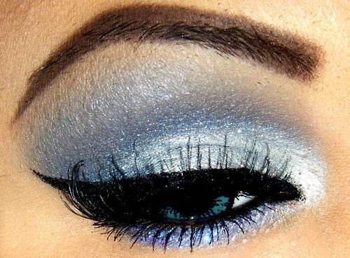 what is a good brand to get shimery light blue eyeshadow?